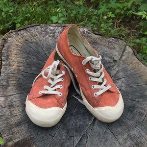 KEEN 100% Vulcanized Women's sneakers SZ 7.5 Rust